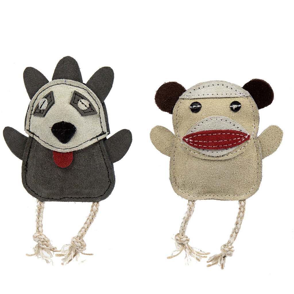 Wee Buddies - Sock Monkey/Raccoon Pair