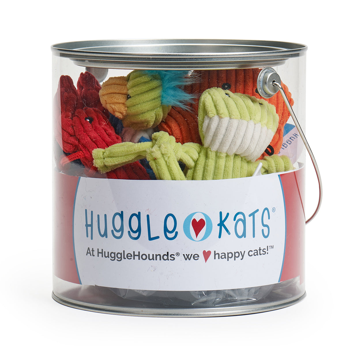HuggleKats® 12 Piece Bucket of Seaside Characters
