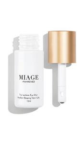 AWAKENED <br/>THE ISOTONIC EYE ELIXIR <br/>  <i>WATERLESS BRIGHTENING CONCENTRATE </i>
