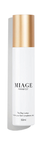 MANIFEST<br/> <span>The day lotion</span><br/> <i>Manifest your best complexion, daily.</i>