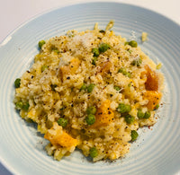 Pumpkin, Pea & Mint Risotto
