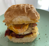 Ultimate Bacon & Egg sandwich
