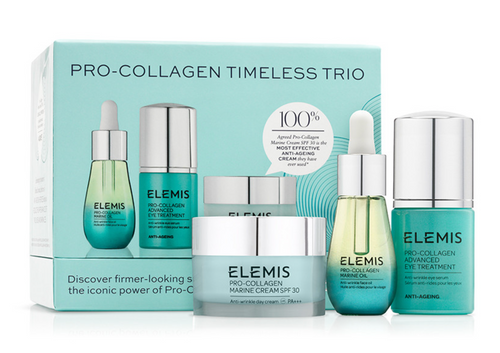 ELEMIS | Pro Collagen Timeless Trio | Katies Beauty Kitchen