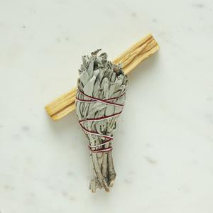 White Sage & Palo Santo Smudge Pack - Katies Beauty Kitchen
