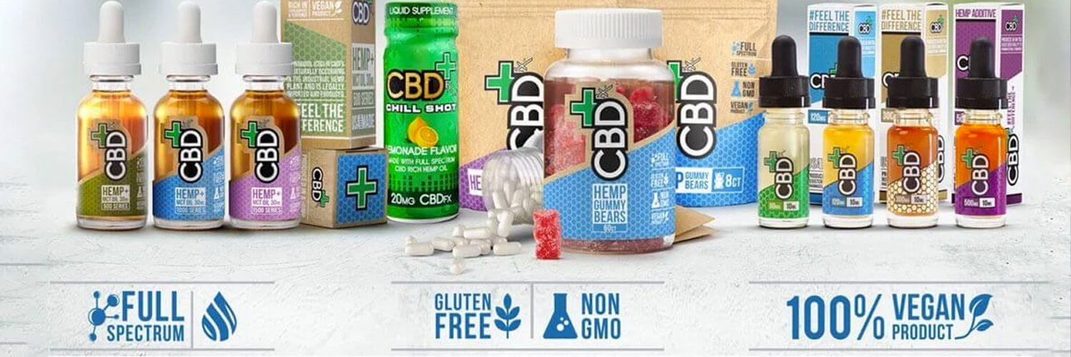 CBD FX Top Rated, NO THC - CBD Only