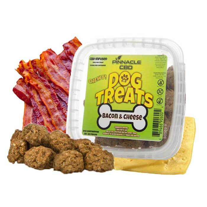 Pinnacle Hemp Bacon & Cheese CBD Dog Treats