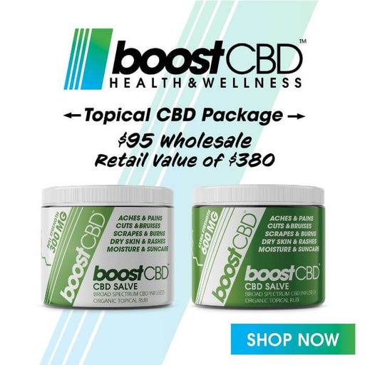 Boost CBD Topical Intro Pack