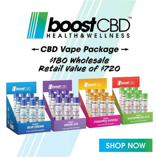 Boost CBD Vape Intro Pack