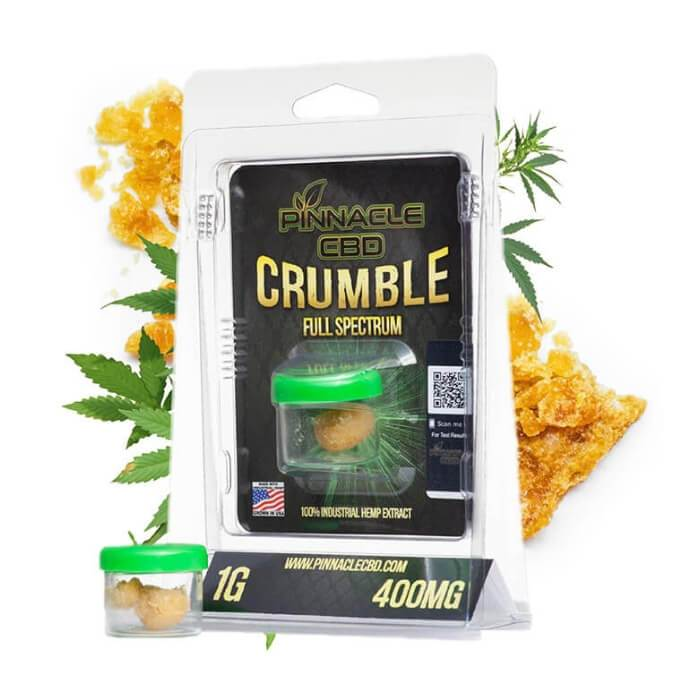 Pinnacle Hemp CBD Crumble