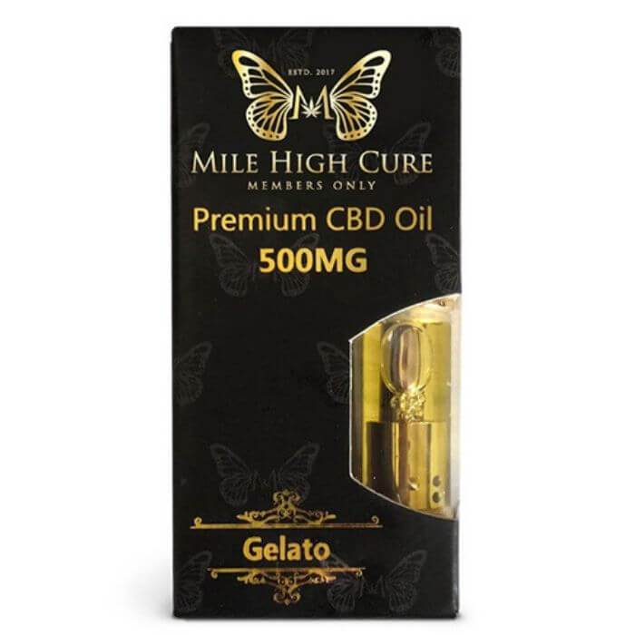 Mile High Cure CBD Oil Vape Pen Cartridge