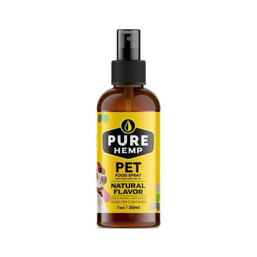 Pure Hemp CBD Pet Food Spray