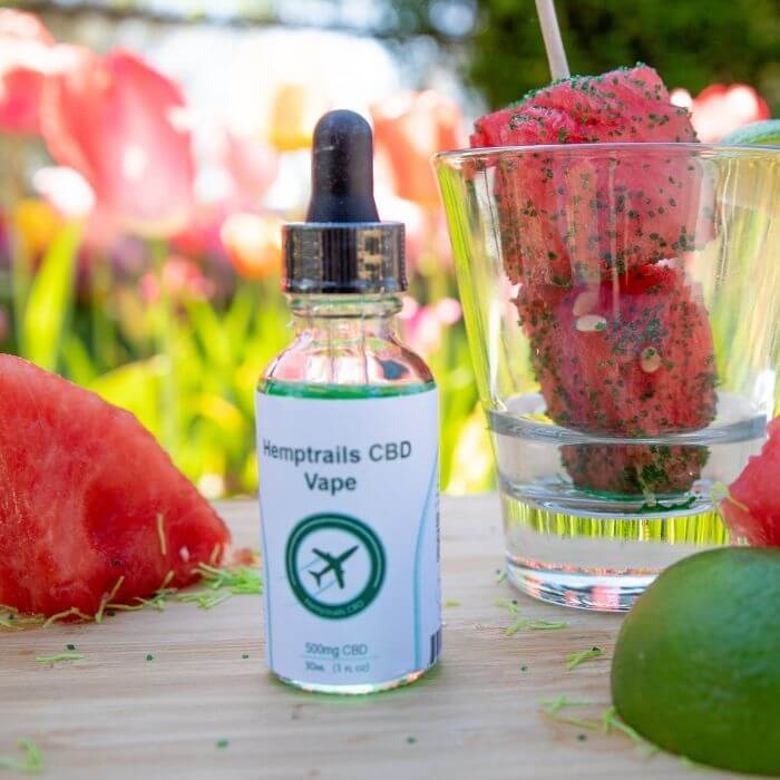 Hemp Trails CBD Watermelon Margarita Vape Juice