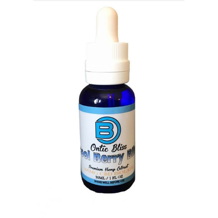 Ontic Bliss CBD Cool Berry Bliss Premium Hemp Extract CBD Vape Juice
