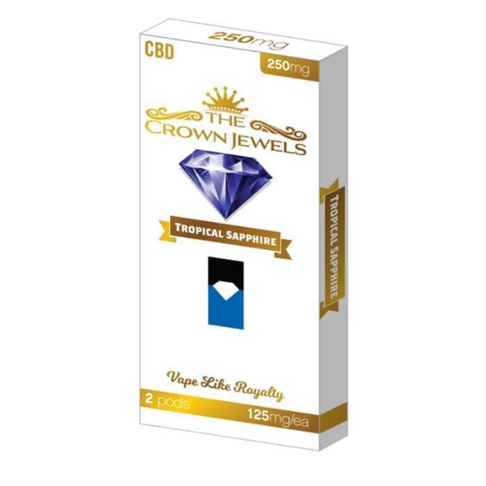 Fusion Brands Crown Jewels Tropical Sapphire CBD Pod