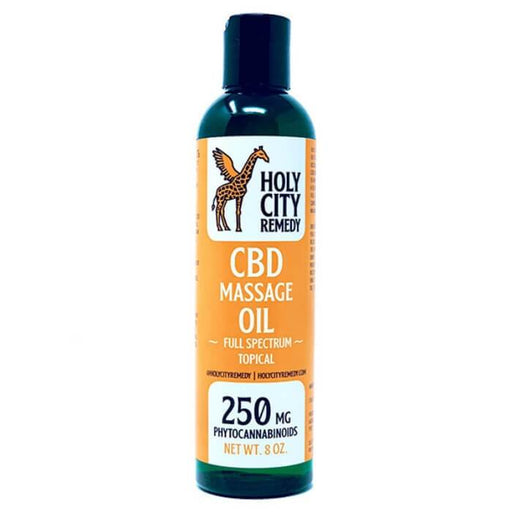 Holy City Remedy Full Spectrum Topical CBD Massage Oil