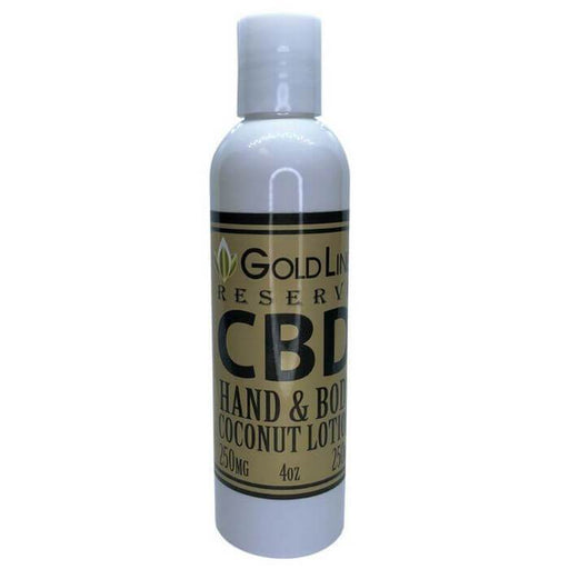 Goldline CBD Hand and Body Lotion