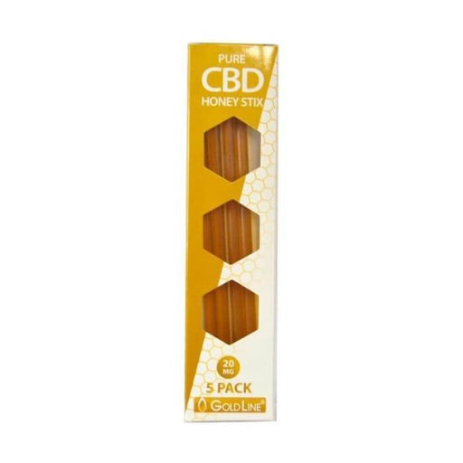 Goldline CBD Infused Honey Stix