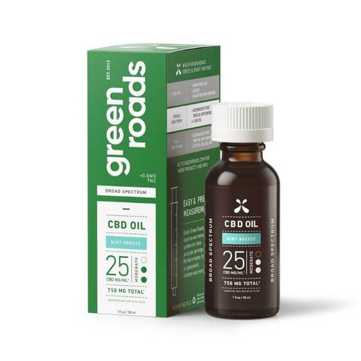 Green Roads CBD Mint Breeze Broad Spectrum Oil
