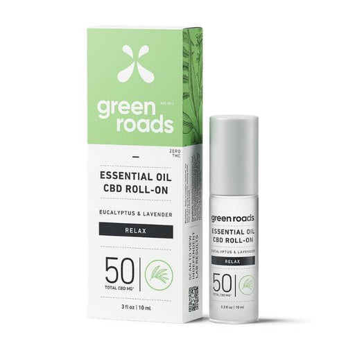 Green Roads CBD Relax Essential Roll On Oil
