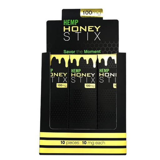 Fusion Brands CBD Hemp Honey Stix (12-Pack)