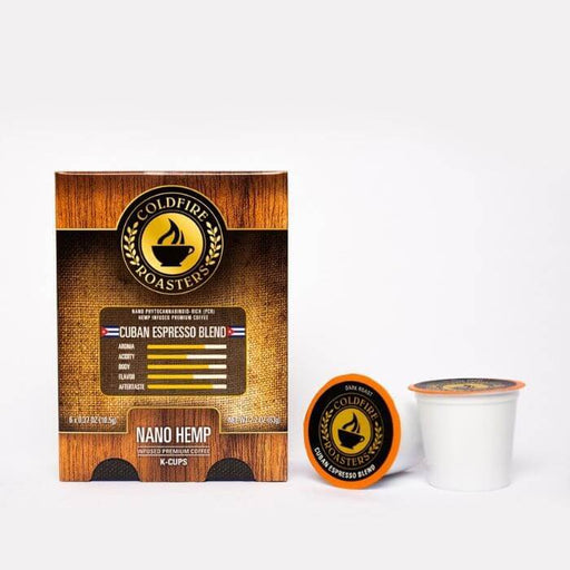 Coldfire Roasters CBD Hemp Infused Cuban CBD K-Cups
