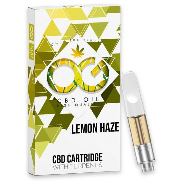 OG Laboratories Lemon Haze CBD Vape Cartridge