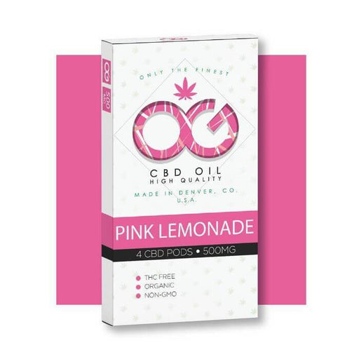 OG Laboratories OG CBD Pink Lemonade Pods