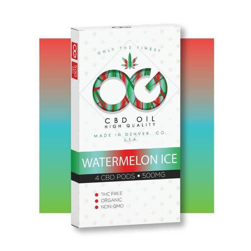 OG Laboratories OG CBD Watermelon Ice Pods