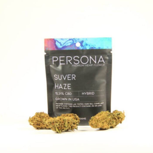 Persona Hemp Suver Haze Premium Hemp Flower-Unavailable