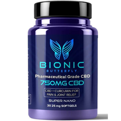 Bionic Butterfly Pharmaceutical Grade CBD Softgels