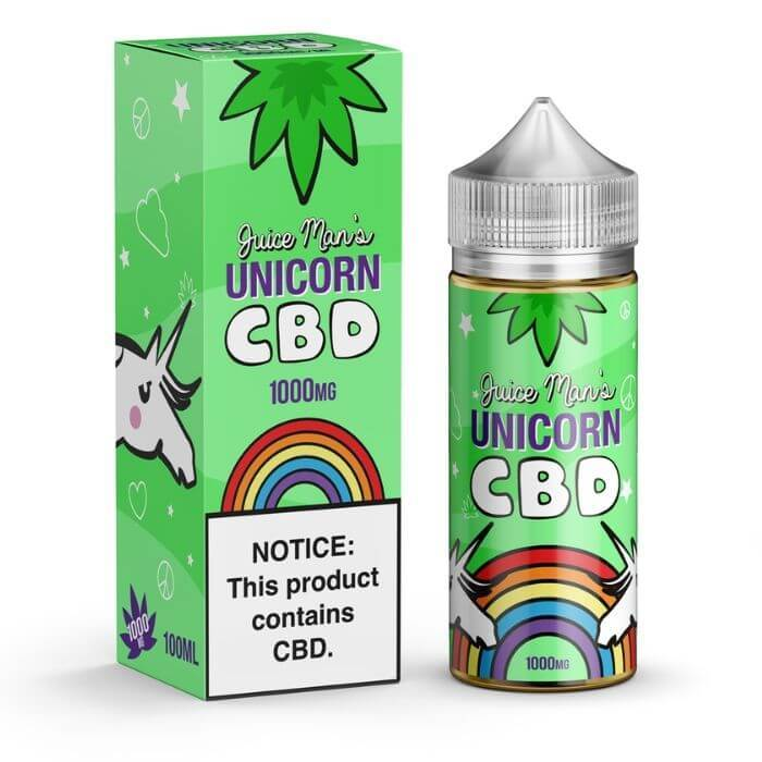 Juice Man CBD Unicorn CBD Vape eJuice