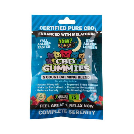 Hemp Bombs 75MG Sleep CBD Gummies