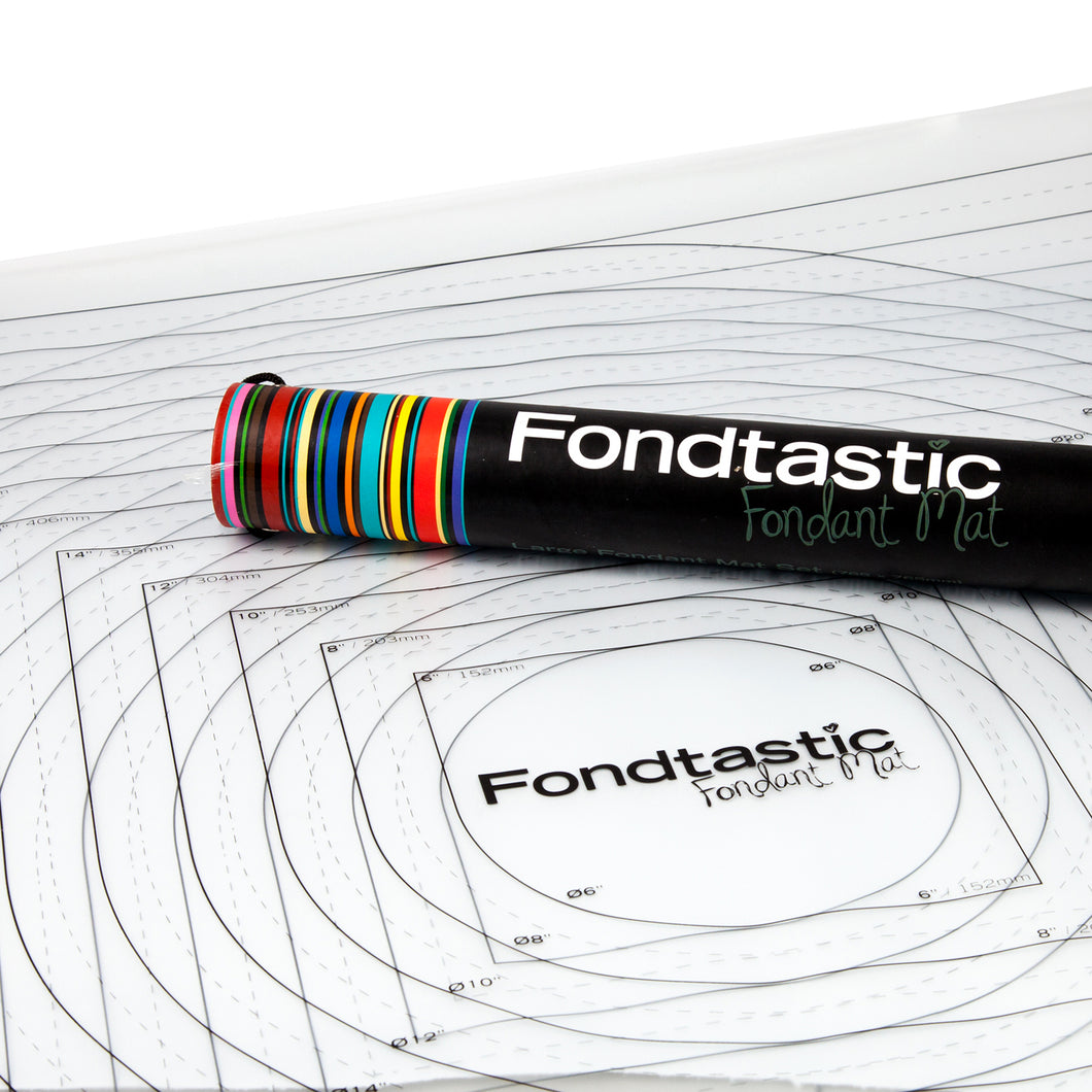 Fondtastic Fondant Mat Set 2PC - Small
