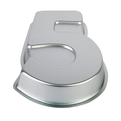 Number Five Cake Pan Mondo