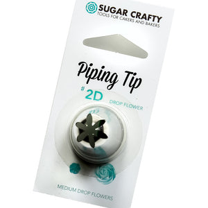 Drop Flower Icing Tip 2D