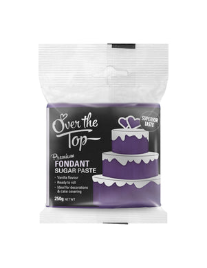 Over The Top Fondant Purple 250g