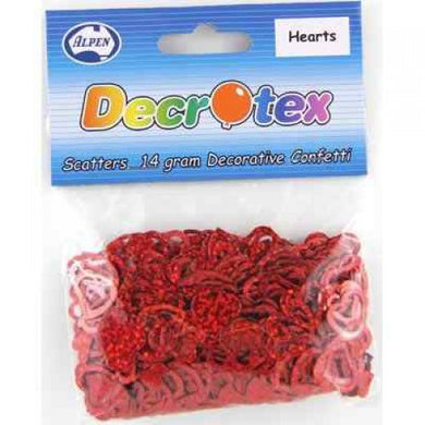 Red Heart Scatters