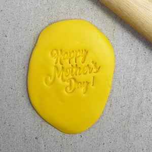 Happy Mother's Day V4 Embosser 60mm
