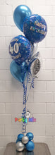 Load image into Gallery viewer, Blue Age Birthday Bouquet with Star