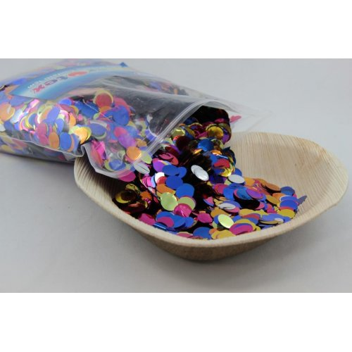 Multi Colour 1cm Round Confetti
