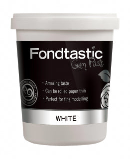 Fondtastic Gum Paste WHITE 908g