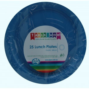 Royal Blue Lunch Plate P25