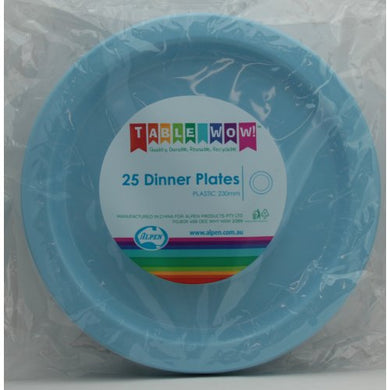 Light Blue Dinner Plate P25