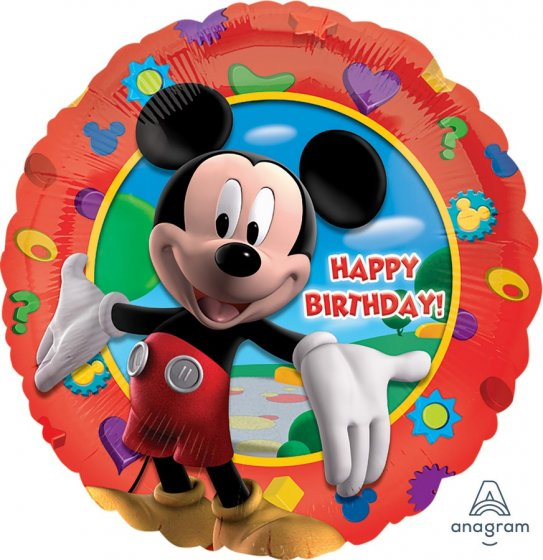 18inch Foil Balloon - Mickey Mouse Happy Birthday