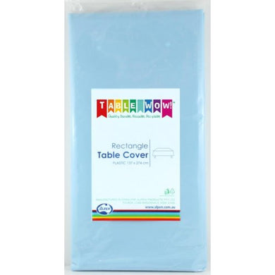 Light Blue Rectangle Tablecover P1