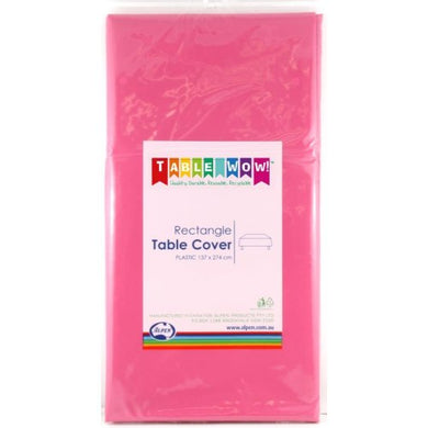 Magenta Rectangle Tablecover P1