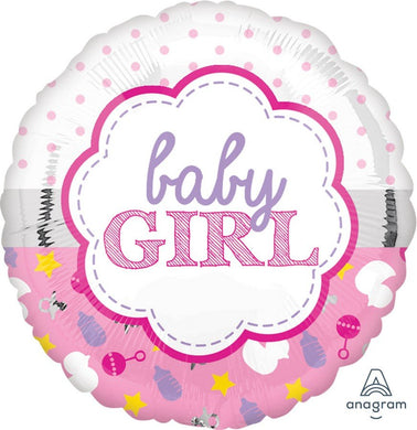 Baby Girl Foil Balloon 18 inch