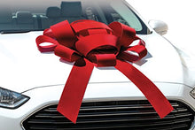 Load image into Gallery viewer, Red Car Bow Ribbon Hire