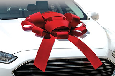 Red Car Bow Ribbon Hire