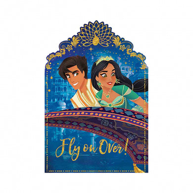 Aladdin Postcard Invitations
